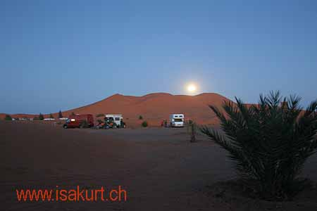 Erg Chebbi - Camping Rose du sable
